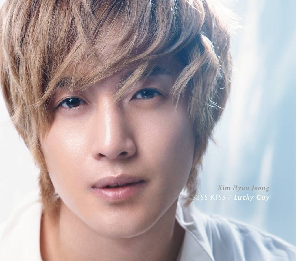 Kim Hyun Joong - KISS KISS / Lucky Guy [Japanese Single]