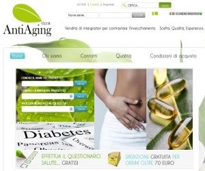 Antiaging Club integratori antiossidanti