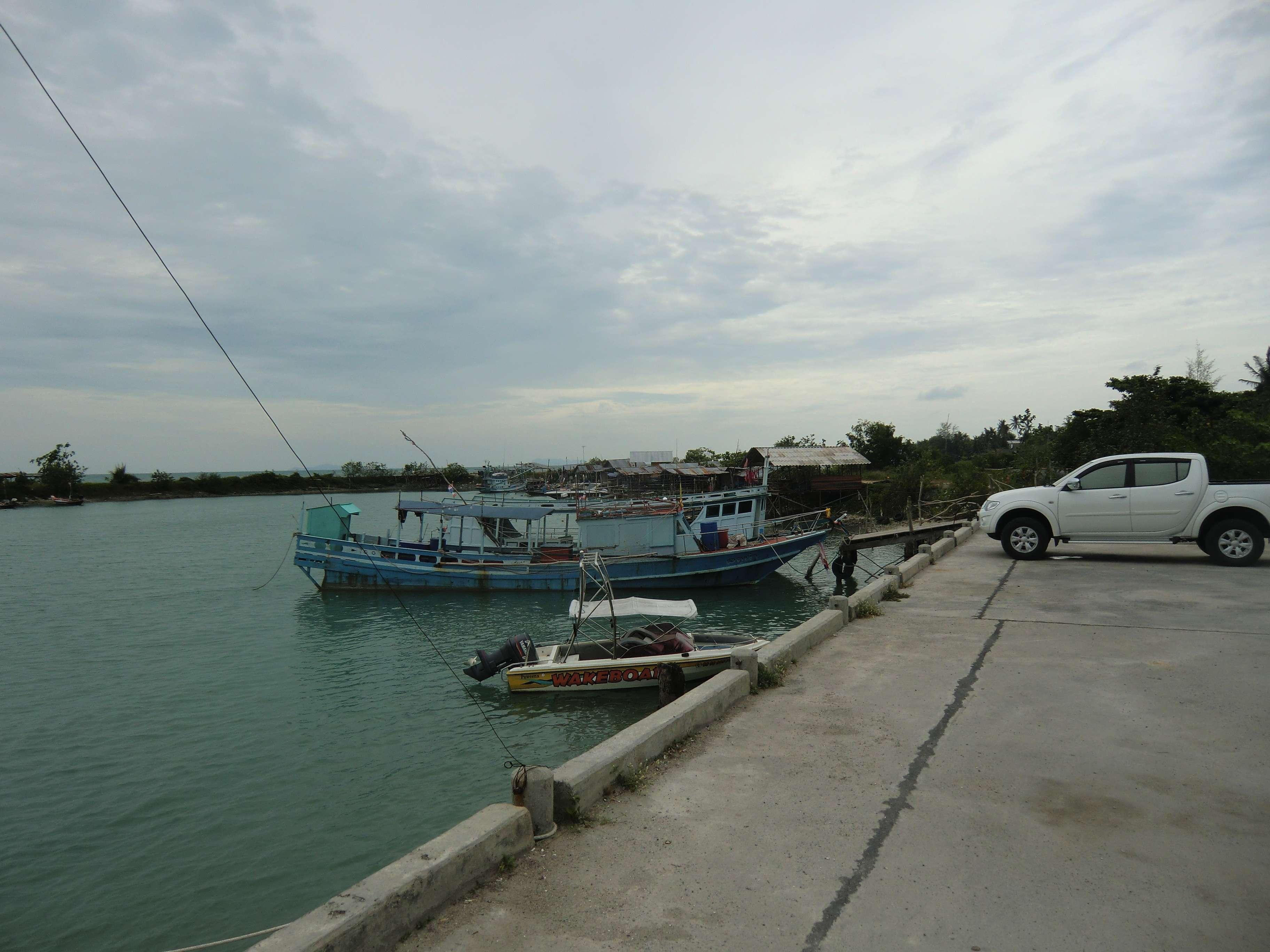 Hafen von Ban Tai