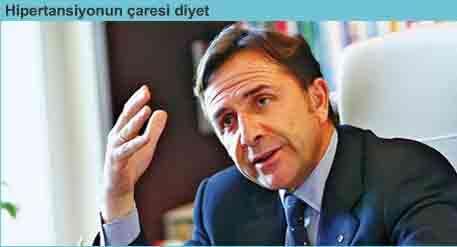 Hipertansiyon tedavisi eşittir diyet Osman Müftüoğlu