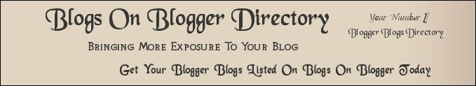 Blogs On Blogger | Blogger Blogs | Blog Directory | Blogger Blogs Directory, Submit Your Blog Today