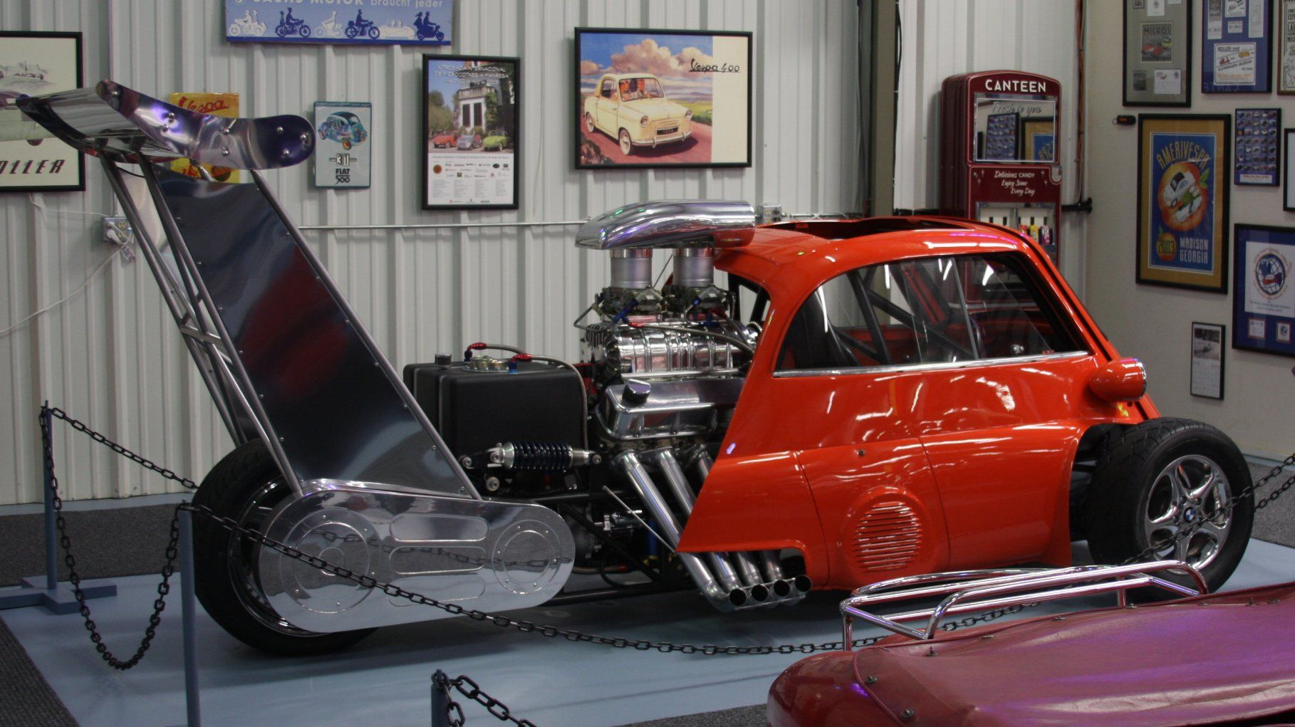 1959 BMW Isetta Dragster