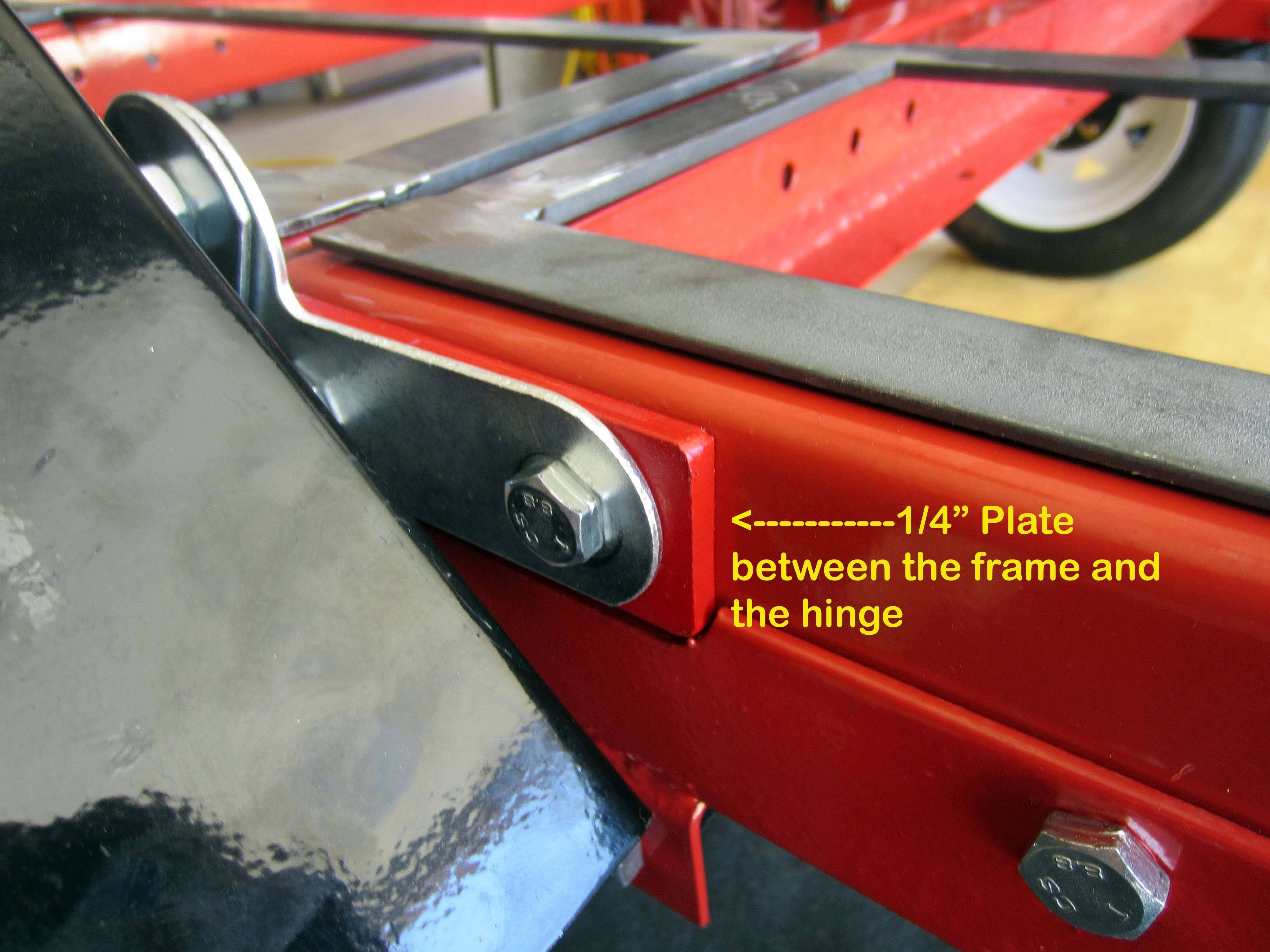 harbor freight 4 x 8 folding trailer mods finally done the
